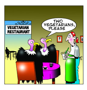 Vegetarian-buzzards